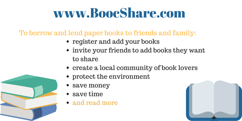 Borrow and lend your paper books